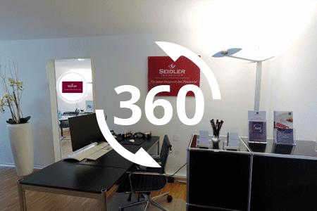 360-Rundgang Büro Immobilien